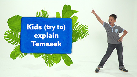Kids (try to) explain Temasek
