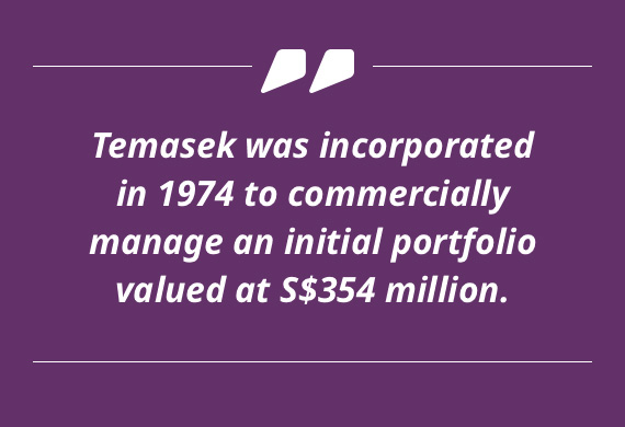 Temasek Portfolio at Inception